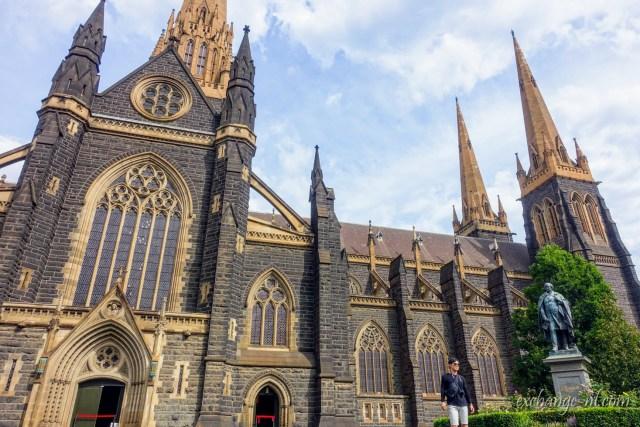 墨尔本圣派翠克大教堂(圣巴特利爵主教座堂)St Patrick's Cathedral, Melbourne