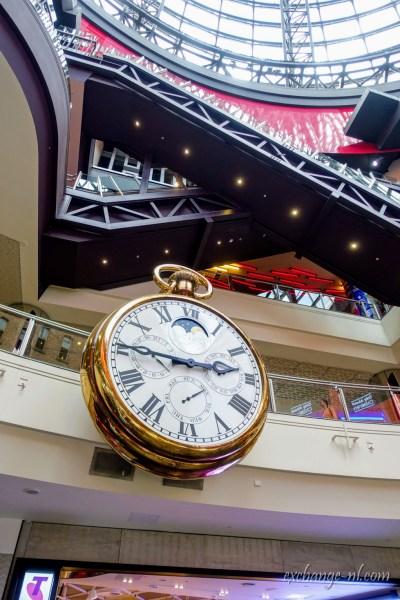 墨爾本中央購物中心巨型掛鐘/陀錶 The Marionette Watch, Melbourne Central