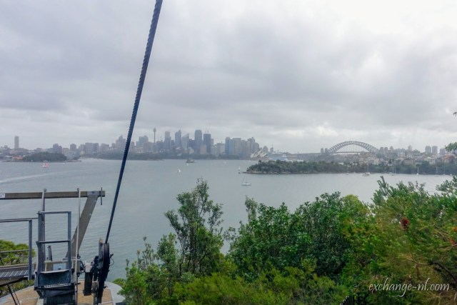 悉尼塔龍加動物園纜車景色 View from Cable Car in Sydney Taronga Zoo