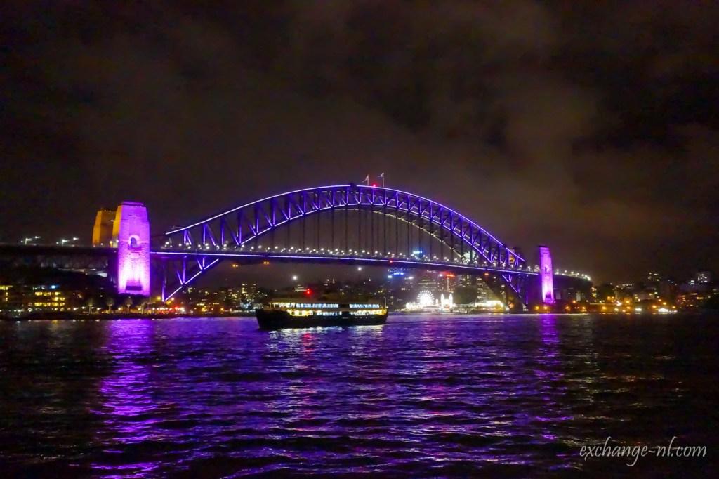 悉尼港灣大橋夜景 Sydney Harbour Bridge Night View