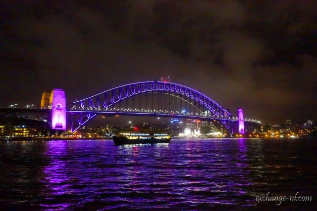 悉尼港灣大橋夜景 Sydney Harbour Bridge Night View