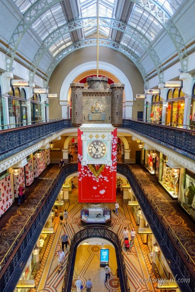 悉尼維多利亞女王大廈皇家鐘 Royal Clcok Royal Clcok in Queen Victoria Building, Sydney