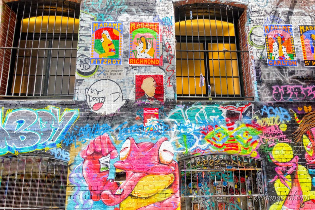 墨爾本塗鴉街 Hosier Lane, Melbourne