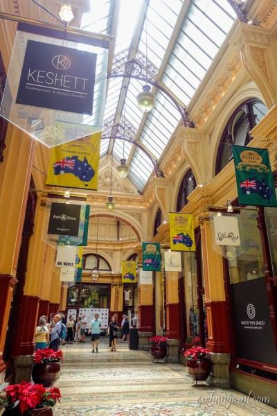 墨爾本街區拱廊 Block Arcade, Melbourne