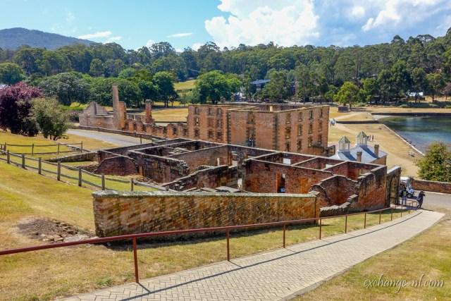 塔斯曼尼亞亞瑟港建築遺迹 Ruins at Port Arthur, Tasmania