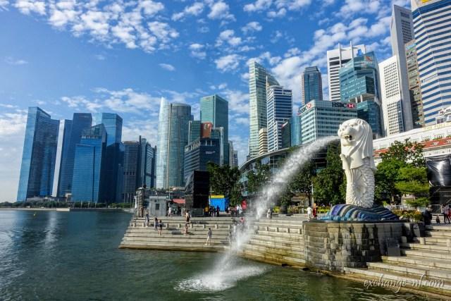 新加坡魚美獅公園 Merlion Park, Singapore