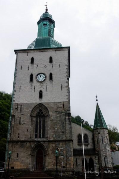 卑尔根大教堂 Bergen domkirke Bergen Cathedral