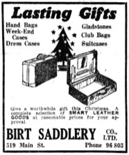 1934-12-08 - Winnipeg Tribune - Birt Saddlery Gifts