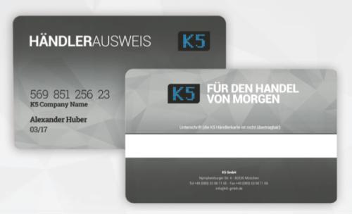 K5 Händlerausweis