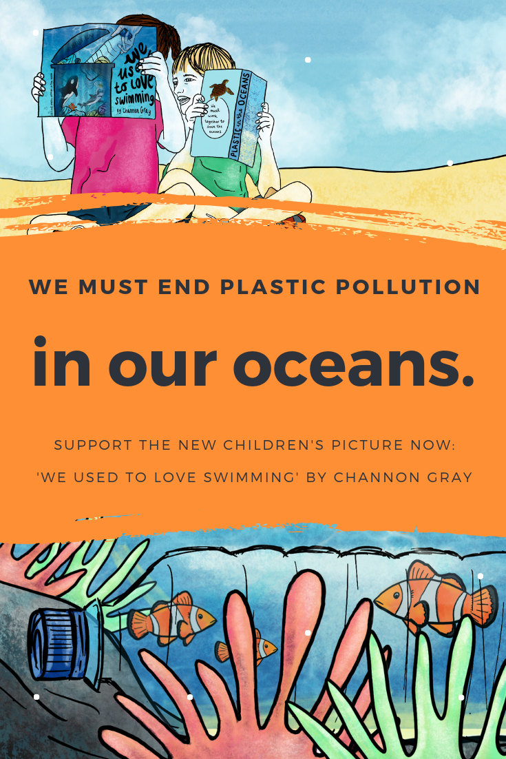 'We Used To Love Swimming' will work to educate children through a picture book. It will illustrate and discuss how they can personally help to make a difference in combating plastic pollution globally.// excitingteacher.com