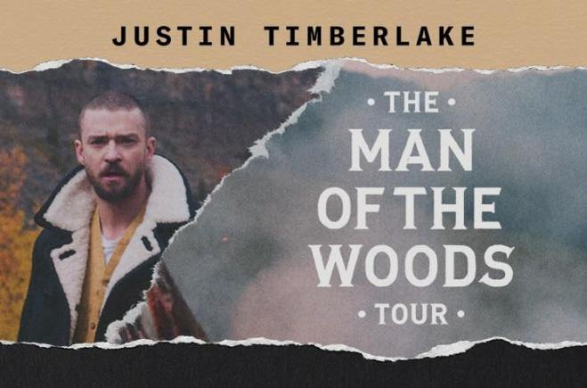 """Justin Timberlake Announces """"The Man  the Woods Tour"""""""