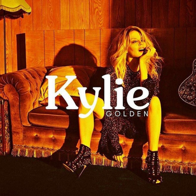"""Kylie Minogue Returns with Her First 'Golden' Single """"Dancing"""""""
