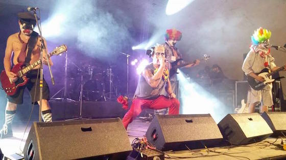 Vancouver Singer for Clown-Themed Iron Maiden Cover Band Arrested for Allegedly Smuggling $7 Million  Drugs into Japan