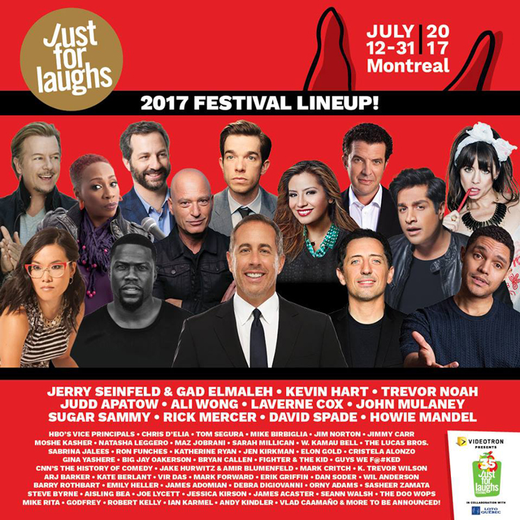 Just Laughs 30th Anniversary Lineup