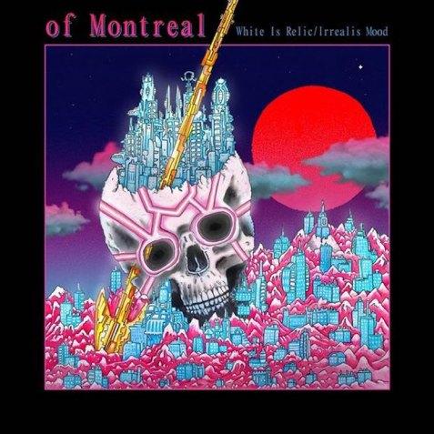 of Montreal - White Is Relic/Irrealis Mood album cover ile ilgili görsel sonucu