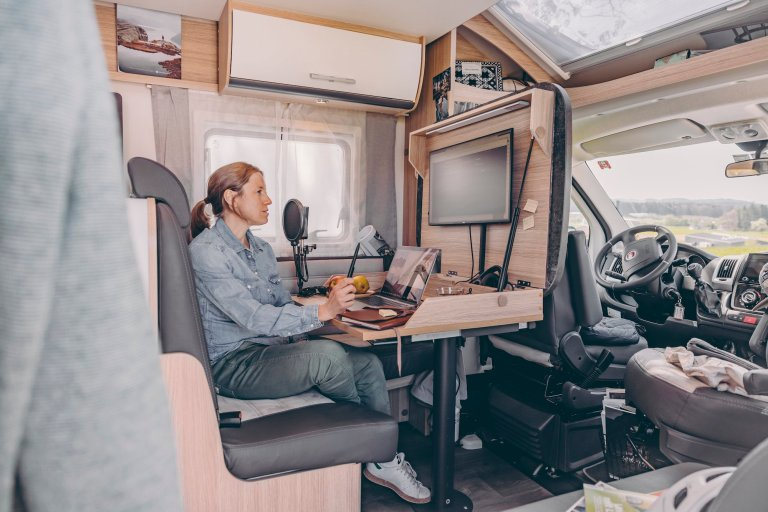 Home office on Wheels