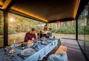 Renson outdoor living: 'Buiten genieten, ook in het najaar'