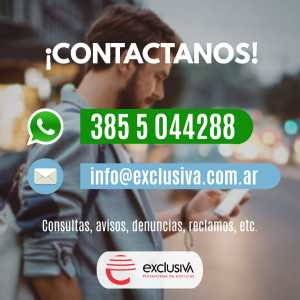 Whatsapp exclusiva.com.ar