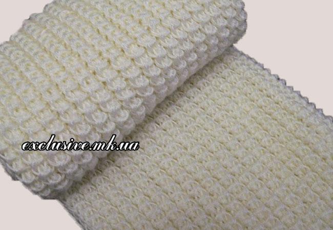 шарф-американской-резинкой
