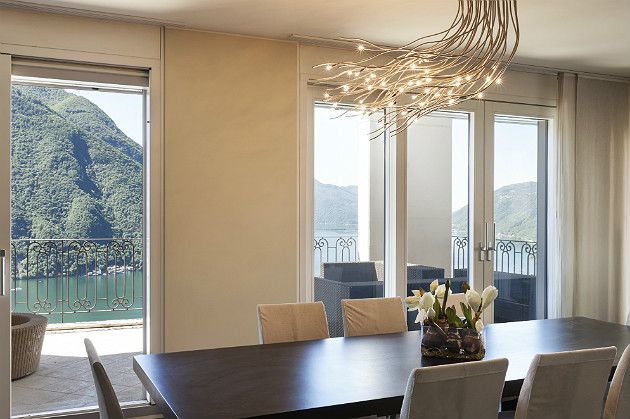 interior with the latest lighting trends