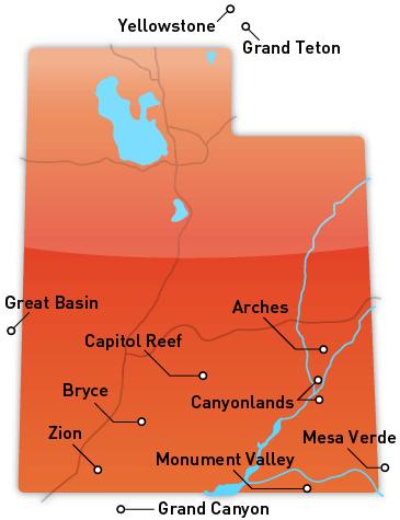 MultiBrief Take a scenic drive through Utahs 5 national