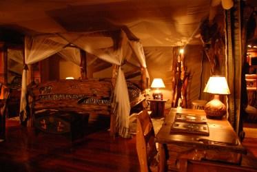 tent interior night royal lodge during previous
