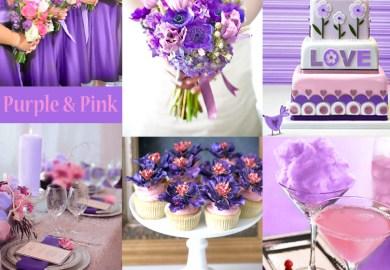 Purple Cakes Wedding Photos Project Wedding