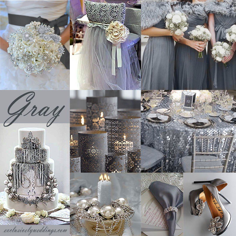 Gray Weddings on Pinterest  Yellow Grey Weddings Grey