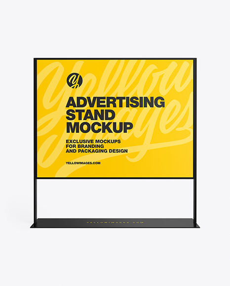 Download Syrup Box Mockup Free Download Yellow Images