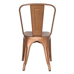 Tolix Side Chair Cheap 6 Dining Tables Marais Set Of 4 In Copper
