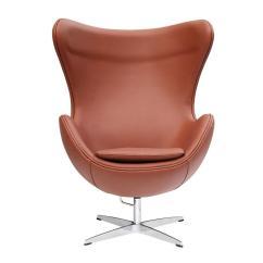 Jacobsen Egg Chair Leather Bedroom John Lewis Arne In Terra Cotta