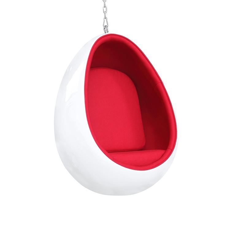 hanging chair cover steel wrestling magazine arne jacobsen style egg