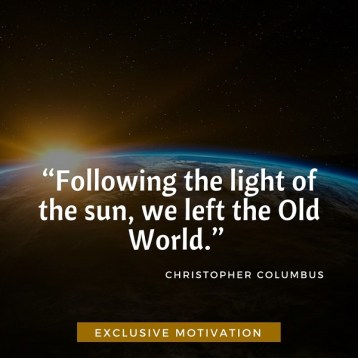 Christopher Columbus Quotes