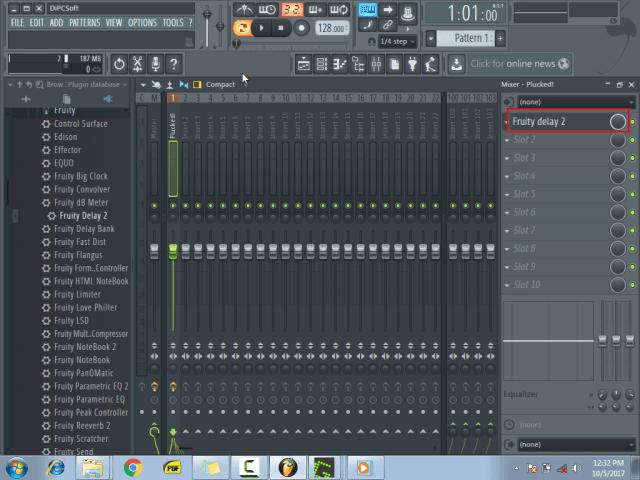 Using the mixer menu10