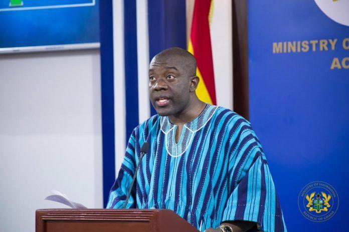 Minister of Information Kojo Oppong Nkrumah