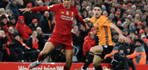 Liverpool won by 1-0 against Wolves