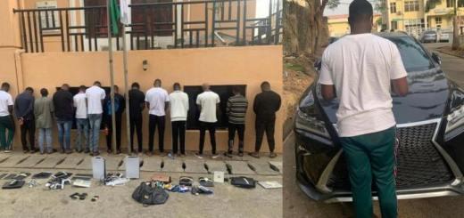 Image Suspected Internet Fraudsters Arrested In Abuja