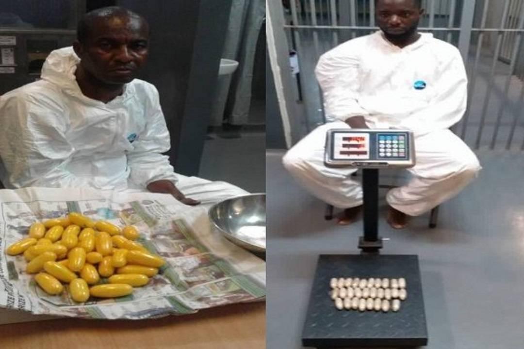 Two suspected drug smugglers
