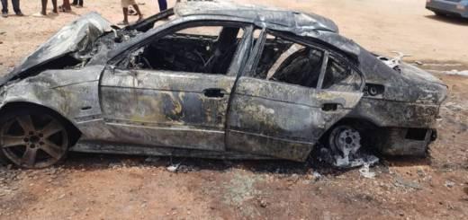 Egg Seller Killed As Policeman Gets Burnt