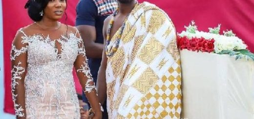 Eugene Osafo-Nkansah, the husband of actress Victoria Lebene