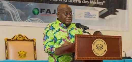 Akufo-Addo tells critics