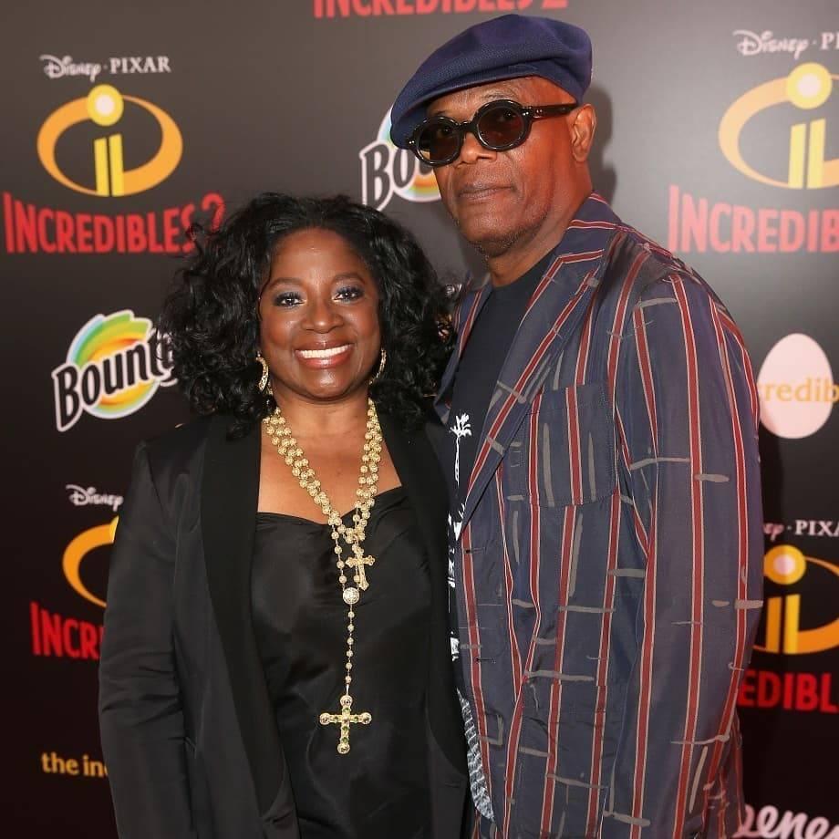Samuel L. Jackson & LaTanya Richardson