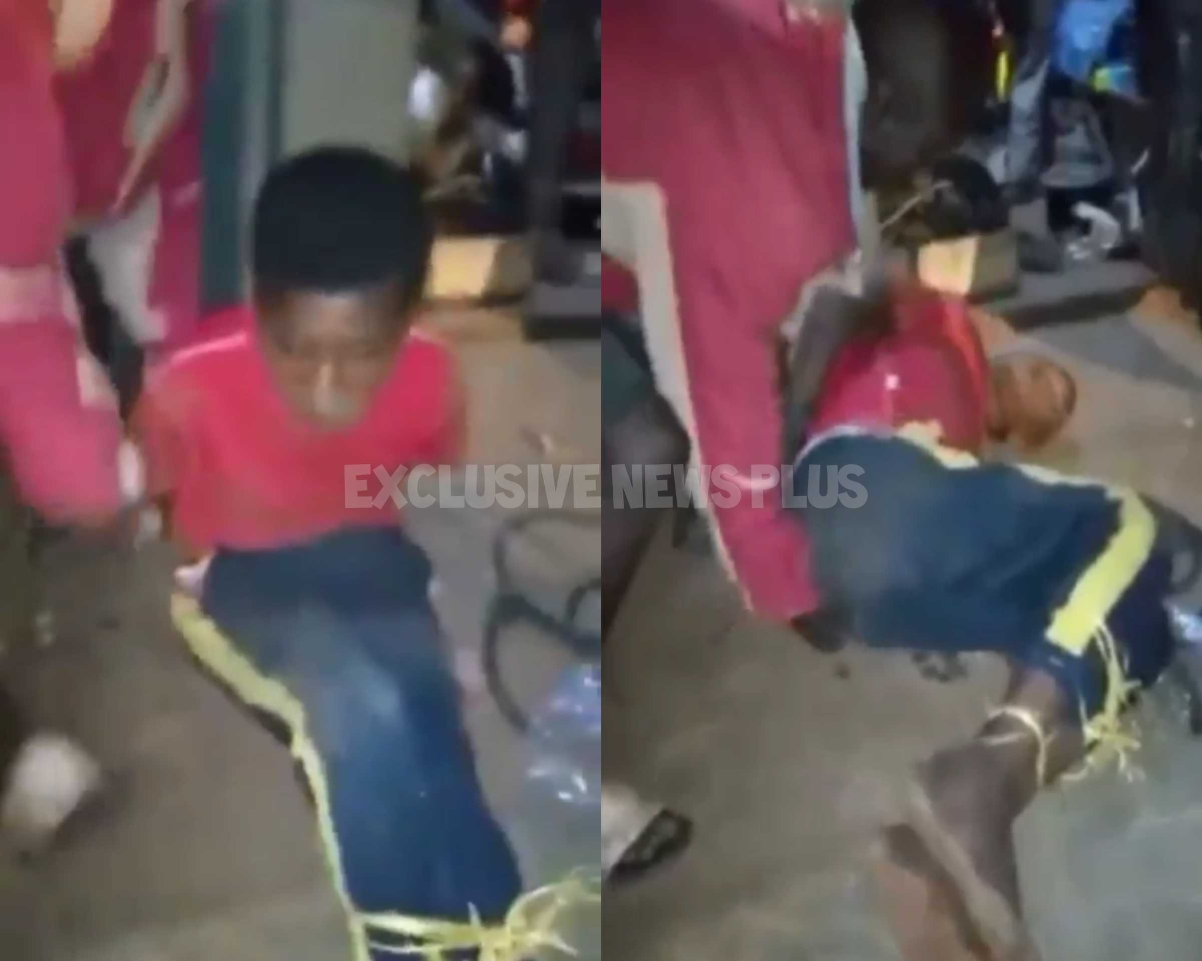 At Agogo, an iron rod was pushed through the anus of a suspected 16-year-old thief.