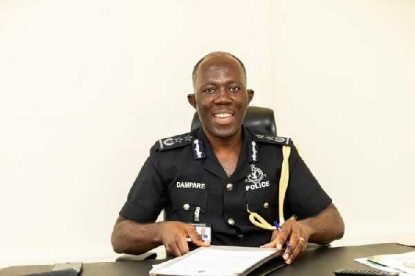 COP Dampare has been appointed new Inspector-General of Police