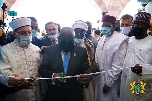 President Akufo-Addo commissions National Mosque Complex of Ghana