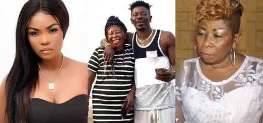 Shatta Wale's mother, Shatta Wale and Magluv