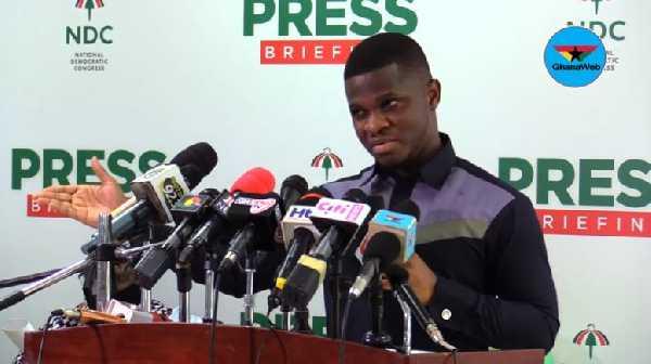 National Communication Officer for NDC, Sammy Gyamfi