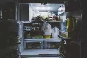 Fridge inside