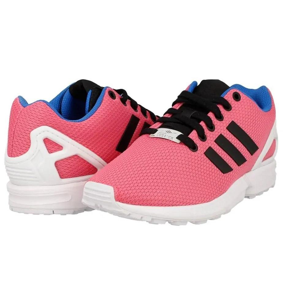 476174704efd7 Adidas Originals ZX Flux Womens Pink Running Trainers - Exclusive Sports