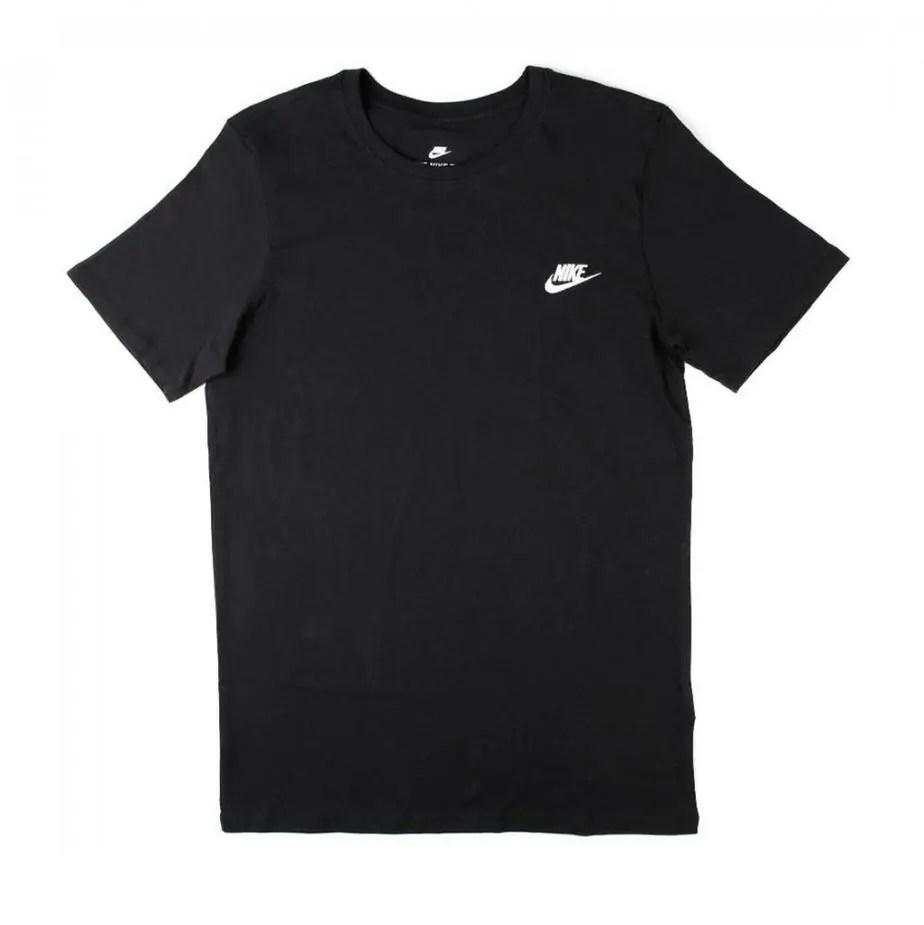 121878e31 Nike Futura Mens Black Short Sleeve Tshirt - Exclusive Sports